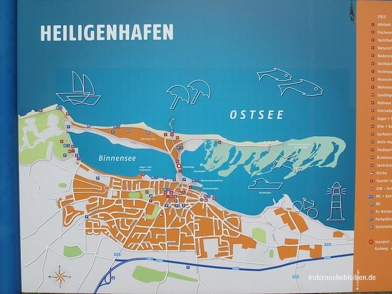 Karte Heiligenhafen