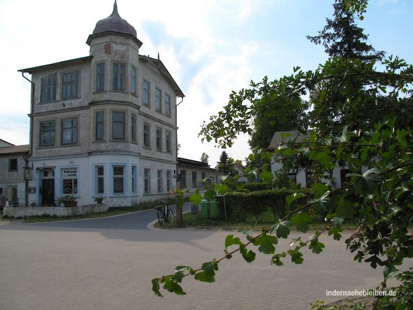 Villa zur Ostsee. In der DDR-Zeit ein Erholungsheim des FDGB