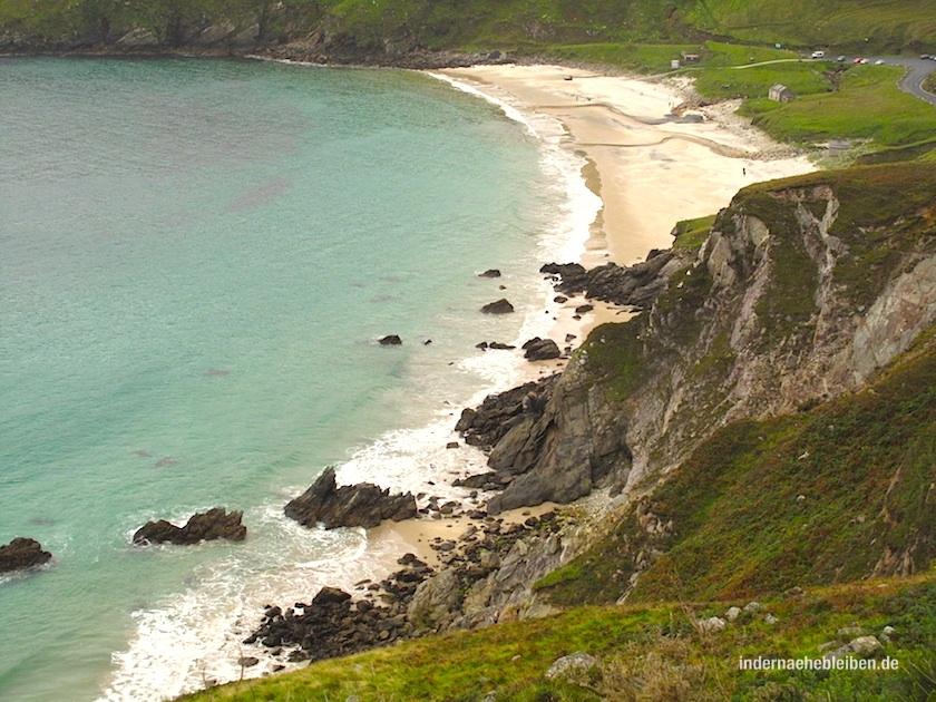 Keem Beach auf Achill Island