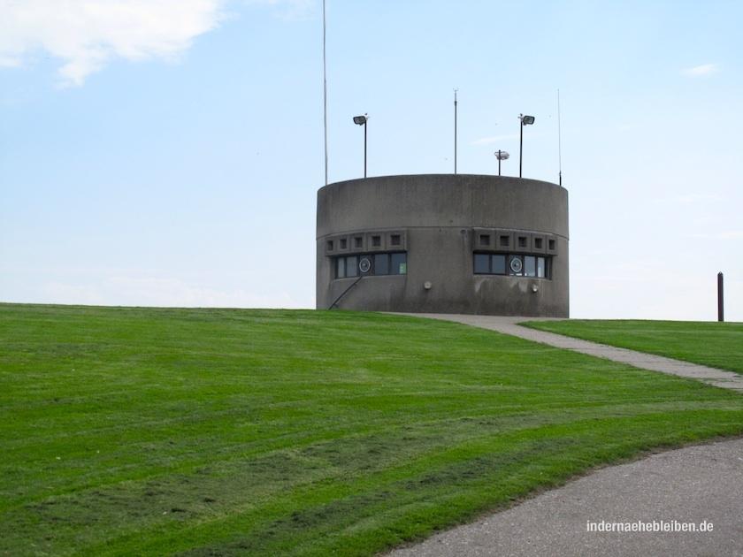 Kaum zu glauben: Auf der anderen Seite des Wattenmeers liegt Kampen.