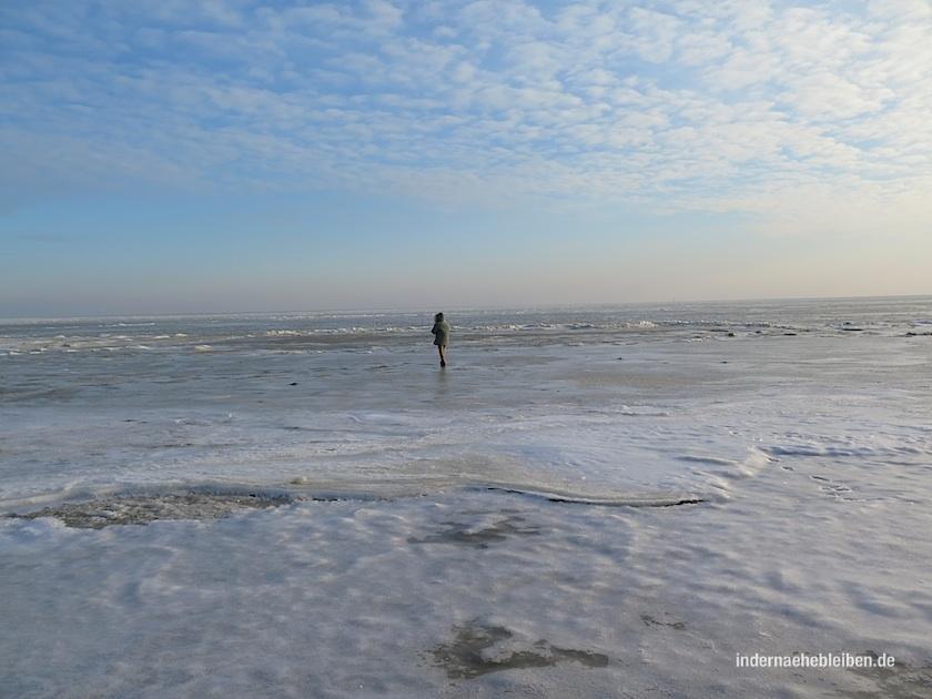 Eis auf dem Watt