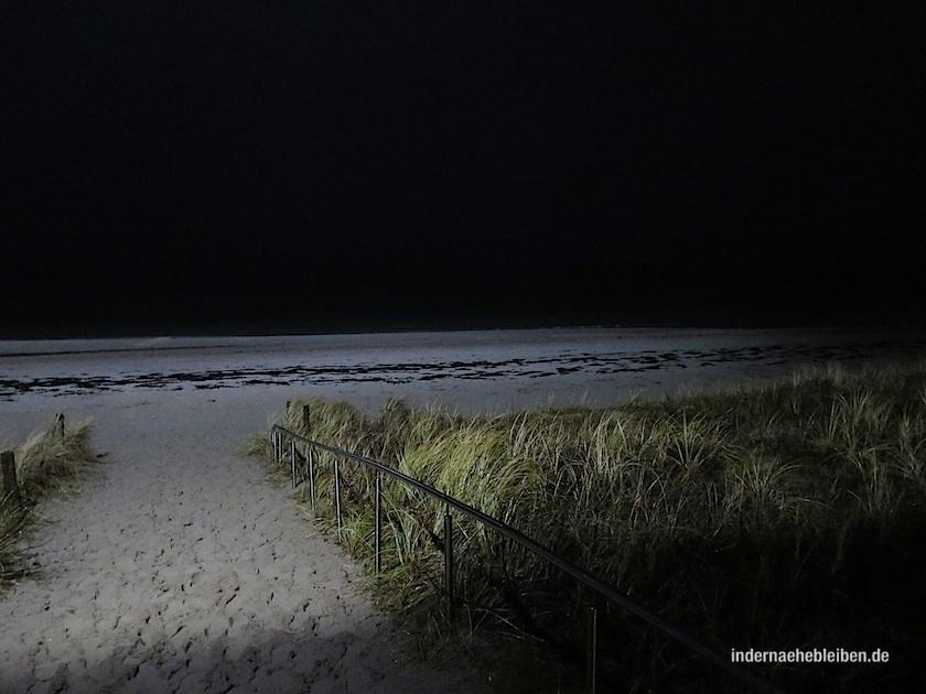 Strand Boltenhagen nachts