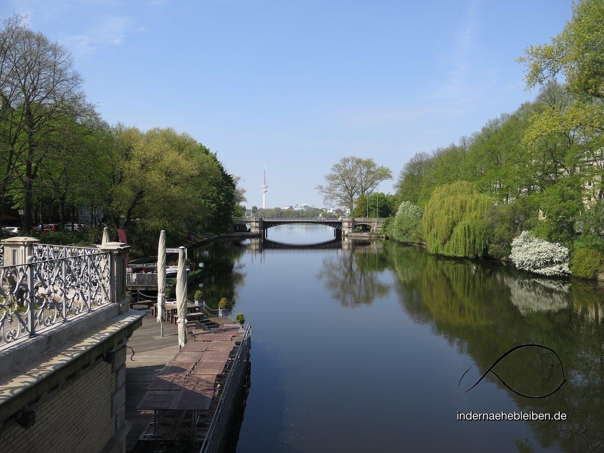 Mittelpunkt von Hamburg